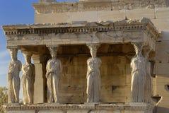 Greece, erechtheion, acropolis Stock Photography