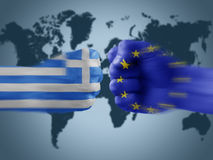Greece x eu Royalty Free Stock Images