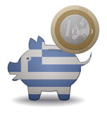 Greece euro Stock Photos