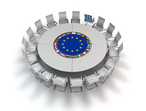 Greece and europe Stock Image