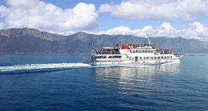 Greece ferry Stock Photography
