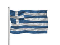 Greece Flag 2 Stock Images