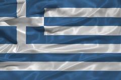 Greece Flag 3 Royalty Free Stock Photo