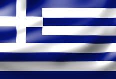 Greece flag royalty free illustration