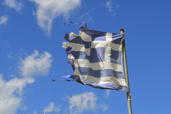 Greece flag Royalty Free Stock Photo