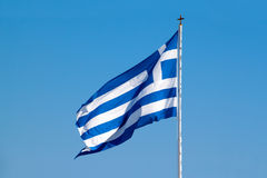 Greece flag Stock Photography