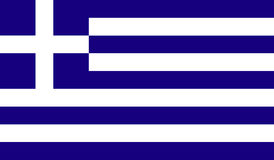 Greece flag image Stock Images