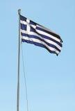 Greece flag Stock Photos