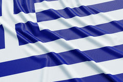 Greece flag Stock Images