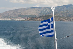 Greece flag Stock Image