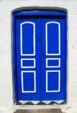 Greece, Greek Door Royalty Free Stock Images