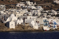 Greece Greek Isles Mikonos Royalty Free Stock Photography