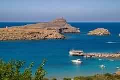 greece hav Fotografering för Bildbyråer