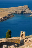 greece hav Royaltyfri Foto