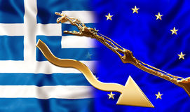 Greece help Stock Photos