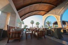 greece hotelu luksus Zdjęcia Royalty Free