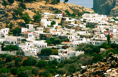 Greece_houses Stockfotografie