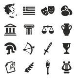 Greece Icons Royalty Free Stock Photos