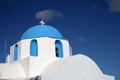 Greece, igreja Fotos de Stock Royalty Free