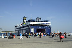 Greece, Industry, Ferry Stock Image