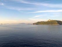 greece ionian hav Royaltyfri Fotografi