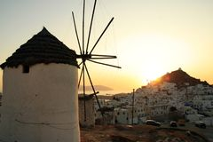 Greece, Ios Island Royalty Free Stock Photo