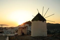 Greece, Ios Island Royalty Free Stock Photos