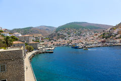 Greece island - Haydra Stock Photography