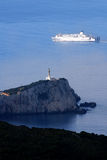 Greece island Lefkas Stock Image