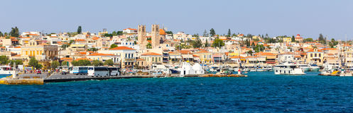 Greece island - Panorama Royalty Free Stock Images