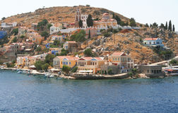 Greece. Island Symi Royalty Free Stock Photo