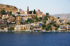 Greece. Island Symi Royalty Free Stock Photos