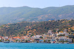Greece islands. Aug. 15 2014  Cruise trip to Hydra island - Greece islands Royalty Free Stock Photography