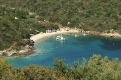 greece ithaca Arkivbilder