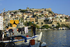 Greece_ Kavala Arkivbild