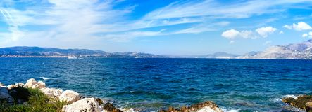 Greece-Kefalonia- Bay of Argostoli1 royalty free stock photo