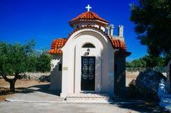 Greece - Kefalonia - Monastery of Panagia Agrilion 11 stock photo