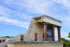 Greece Knossos Palace Royalty Free Stock Image