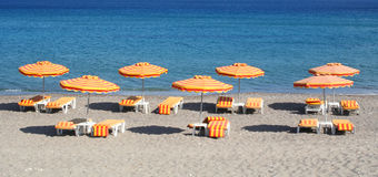 Greece. Kos island. Kefalos beach Stock Images