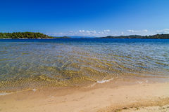 Greece lagoon beach Royalty Free Stock Photos