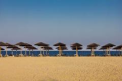 Greece lagoon beach Stock Image