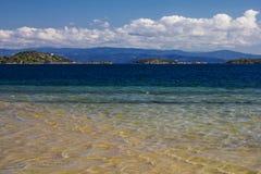 Greece lagoon beach Royalty Free Stock Photography