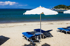 Greece lagoon beach Royalty Free Stock Photography