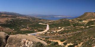 Greece landscape royalty free stock photos