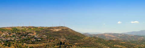 Greece landscape Stock Photography