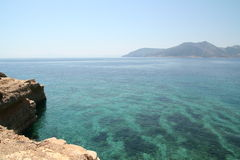 Greece landscape Royalty Free Stock Images