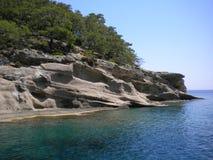 Greece. Landscape of Greece shore line stock image