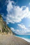 Greece - Lefkada - Egremni beach Stock Photo