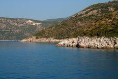 greece lefkada hav Arkivbilder