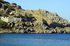 Greece_Lemnos wyspa Zdjęcie Stock